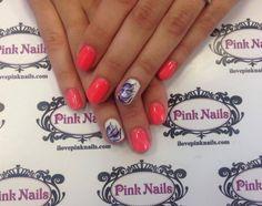 Wild Flower Nails