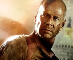 """""""Bruce Willis.  Because hes die hard!"""" -Anonymous"""