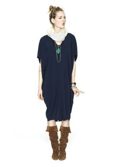The Slouch Dress Long -- HATCH Collection
