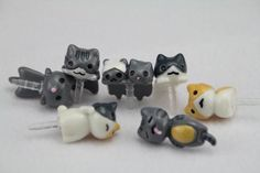 Usamz909 7Pcs Cute Cat Shaped Anti Dust Plug Earphone Jack 3.5mm for iPhone 4 4s 3Gs by USAMZ909. $6.00. This is a tool used to prevent dust from entering the headphone jack. It designed for concealing the tool in the headphone jack. Cute Cat shape heads ensure non slippery grasp and prevent dust from entering the headphone jack. Compatible With Apple iPhone 4S iPhone 4 (GSM,AT) iPhone 3GS iPhone 3G iPhone 4 (CDMA) and all smart phone (3.5mm), This product comes with a 7-day 1...