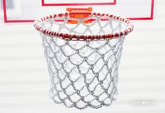 Crochet Basketball Hoop Net. Free Pattern!