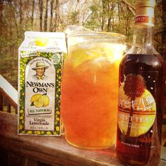 Best summer drink! Sweet tea vodka and lemonade!