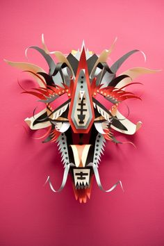 Paper artwork by Thibaut van Boxtel