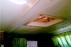 How to Repair a RV Ceiling