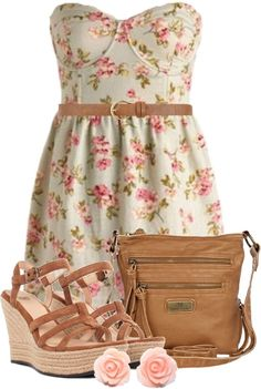 """Summer Sweetheart"" by qtpiekelso on Polyvore"