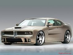 Dodge Charger Concept. Love it all except the wheels.