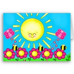 SUN SHINE CARD