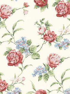 Pattern: CG97062 :: Book: Cottage Garden by Chesapeake and Warner :: Wallpaper Wholesaler