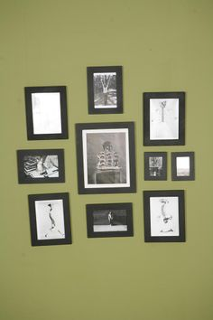 Grouped Picture Frames