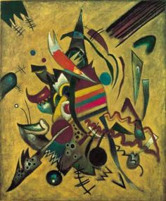 Painter of the Week: Kandinsky. Today: Points (1920)