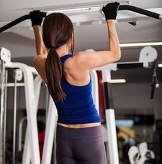 Can't do a pull-up? You're not alone! Learn How to Build Up to a Pull-Up with this video. #pullups #strength #strong