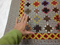 Antique quilt ~ shared by Quiltville Bonnie