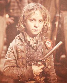 Les Mis (2012) | Daniel Huttlestone (Gavroche) in the film adaptation of Les Misérables.