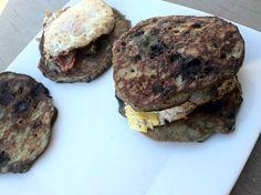pancak breakfast, breakfast sandwich, primal buttermilk, buttermilk blueberri, pancakes, blueberri pancak, breakfast pancak, blueberries, pancak sandwich