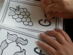 Free Alphabet Book - having your kids use a finger-trace book everyday will help them learn their alphabet in no time!