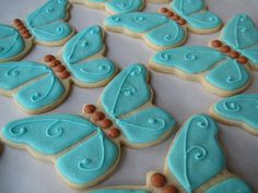 Butterfly cookies by Sugar Delights (Asya), via Flickr