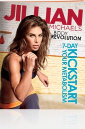Jillian Michaels Body Revolution - absolutely LOVE this program, nutrition plan & the fact the pounds are MELTING OFF! 30 minutes a day for 90 days...can you say SUCCESS?!?!?!!!