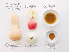 Butternut Squash Soup by thefreshexchange #Soup #Butternut_Squash