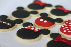 Micky & Minnie Mouse Cookies