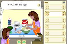 Free TESiboard resource for Pancake Day to support instructional writing