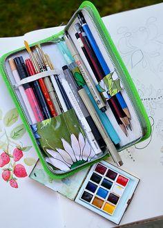 Portable palette