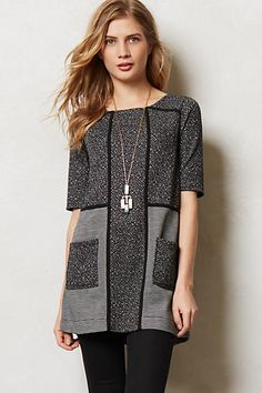 Mitzie Channeled Tunic - anthropologie