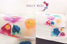 DIY couch cover with directions by Ashley Nacke