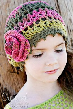 love this crochet hat.