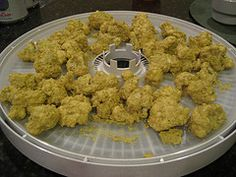 dehydrated cauliflower snack