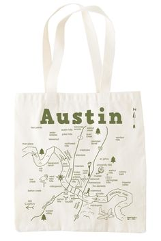 Maptote makes a cute Austin grocery bag!