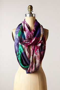 Drusilla Infinity Scarf #anthropologie