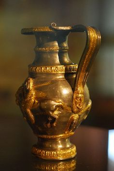 Rogozon Treasure Silver with gold,4th cent.BC Thracian