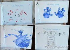 all about me preschool book, all about me book