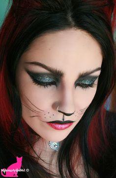 cat makeup halloween - Make-up Artist Me!: Felina - Cat Costume Makeup Tutorial