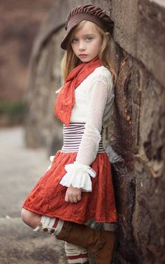 Persnickety Ruched children Waist Skirt Fall 2013