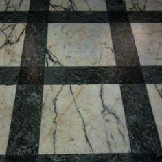 Marble floor detail