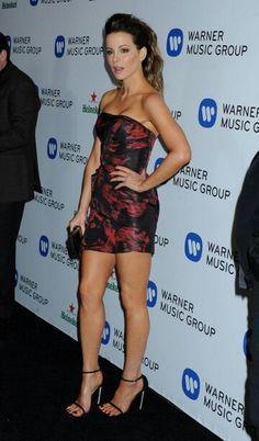 Kate Beckinsale 2014 Grammys