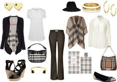 """""""Burberry for Work & Play"""" by dixiepixie on Polyvore"""