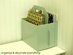 DIY Mail Sorter - Organize and Decorate Everything