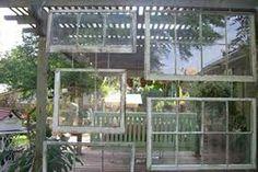 decor, diy crafts, old windows, outdoor space, patio, window idea, vintage windows, outdoor idea, garden