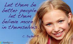 Let them...