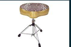 big boy gold/leapard drum throne