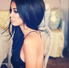 Shiny Black Hair