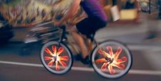 Animated Bike Wheel Accessories
