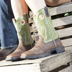 "10"" Women's Boots - Flirt with Durango Western Boots - Style #RD3573 - Durango Boot Company"