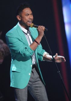Love this singer Miguel