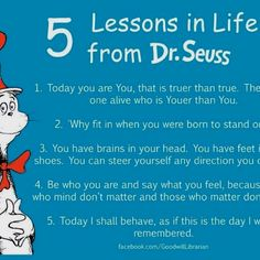 Graduation Theme Quotes   Dr. Seuss sayings