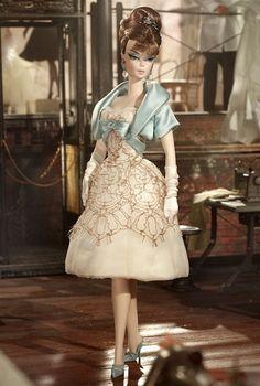 New 2012 Barbie BFMC Silkstone Party Dress Barbie Doll