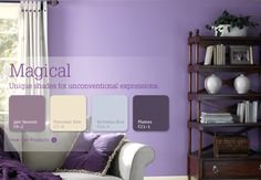 Magical: Unique shades for unconventional expressions #inspiration #color