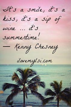 Smile, kiss, wine, summertime. » Love, Sex, Intelligence #summer #chesney #wine #kiss #love